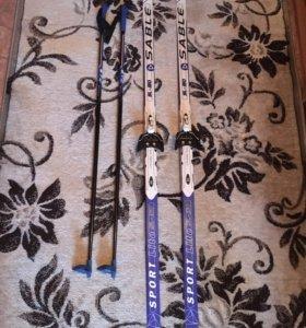 Продаются лыжи