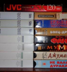 Видеокассеты (38 шт.)