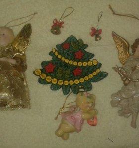 Ангелочки статуэтки фигурки сувенир,подарок на елк