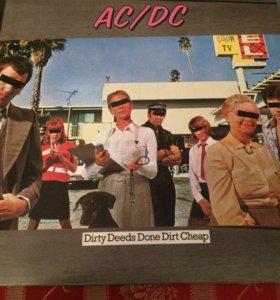 """Виниловая пластинка AC/DC """"Dirty Deeds Done Dirt C"""