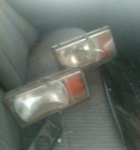 Фары радиатор бампер стекла боковые
