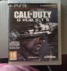 Игры на PS3. Call of duty Ghosts.