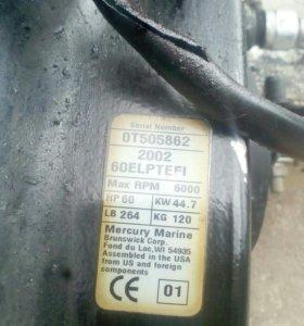 Лодочный мотор меркурий 60