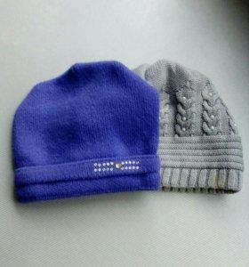 Женские шапки 2 шт