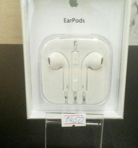 Наушники EarPods Сертифицированые