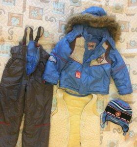 Зимний костюм+ шапка