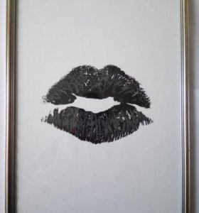 "Картина ""Kiss"""
