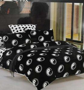 Постельное белье комплект постельного белья евро