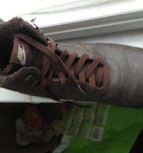 Ботинки мужские Nike зимние