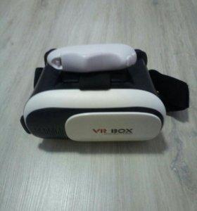 Vr шлем для телефона+bluetooth джойстик