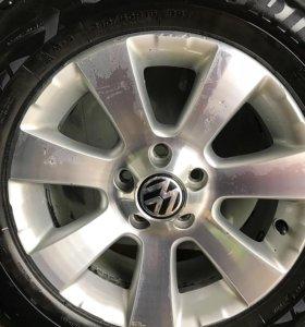 Диски Volkswagen Tiguan R16 с зимними шинами