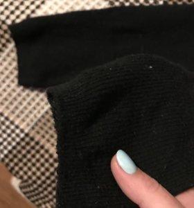 Гольфы женские тёплые чёрные