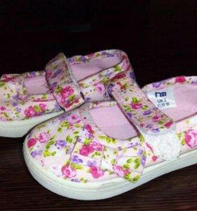 Туфли на девочку👠👠