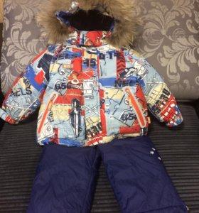 Зимний костюм (куртка+комбинезон) фирмы NELS