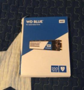 SSD диск WD Blue sata M 2 2280