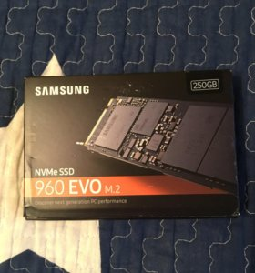 SSD диск Samsung 250gb 960 EVO m.2