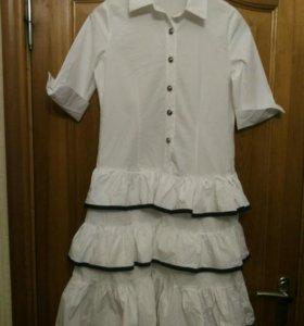 Платье-рубашка 44 размера