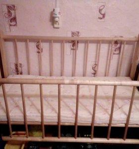 Кроватка матрасик