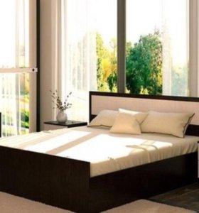 Кровать с матрасом 160