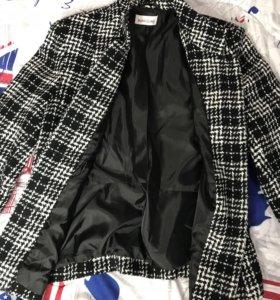 Твидовый пиджак Италия