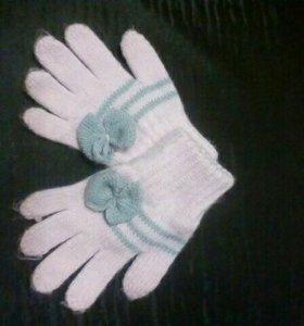 Перчатки детские Новые/Обмен