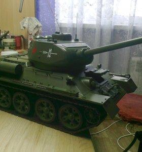 """Т-34 сборная модель от """" Иглемосс"""""""