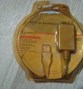 Кабель удлинительный Gembird USB A - USB A