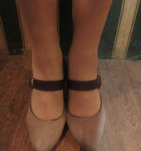 Туфли замша 40