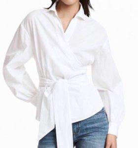 Рубашка с запахом