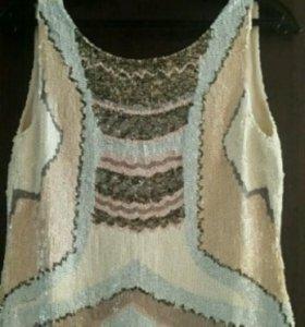 Платье в пайетках twin-SET Simona Barbieri