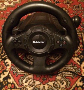 Тип контроллера  проводной руль  Для игор в гонки.