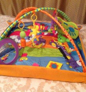 Развивающий коврик для детей tiny love