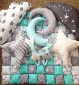 Бортики,подушки,одеялки ,конверты