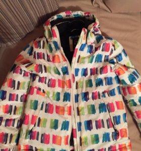 Комбинезон для девочек. Штаны на лямках + куртка