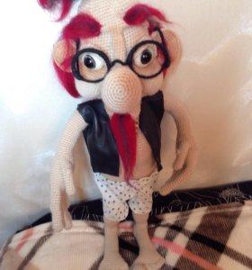 Интерьерная кукла Домовенок