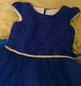 Платье новое на 7-8 лет
