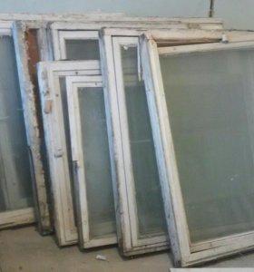 Продам большие окна на парник