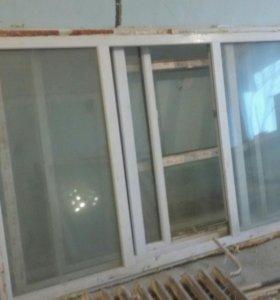 Продам большие пластиковые окна