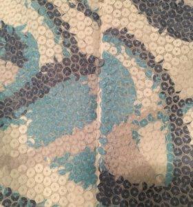 Новое платье в пайетках М на 44-46