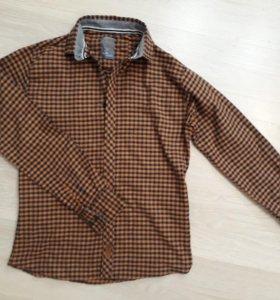 теплая рубашка, байка