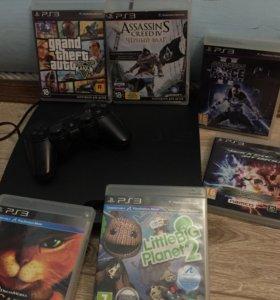 Приставка PS3 и игры к ней
