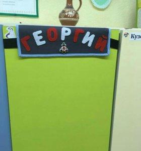 Органайзер, кармашки для кабинки в детский сад