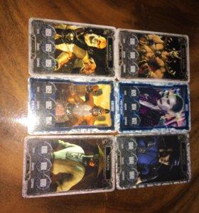 Олмазные карточки mortal combat