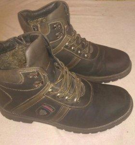 Ботинки мужские зимние(43 размер)
