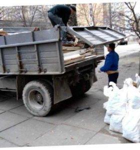 Вывоз мусора, строительный, уборка  чердаков.