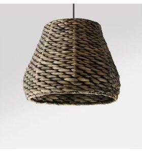 Новый большой плетеный светильник