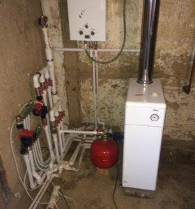 Отопление, водопровод, канализация, сантехника