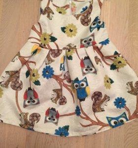 Красивое платье на 4 года