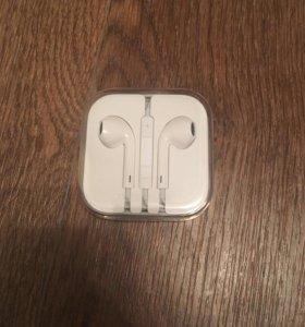 Наушники гарнитура Apple Оригинал