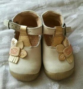 Кожанные туфли, туфельки